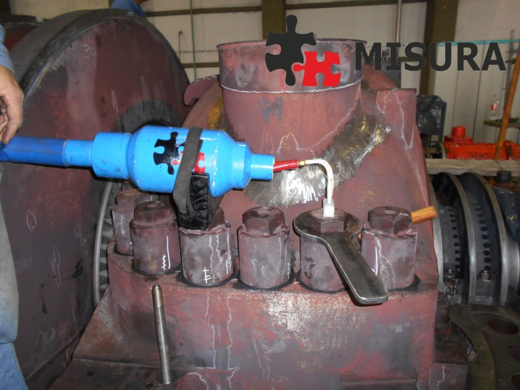 Tensioned bolts are indispensable in power plant construction
