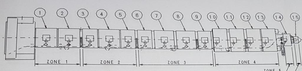 Inyectora modificada para ser utilizada con induccion electromagnética esquema original